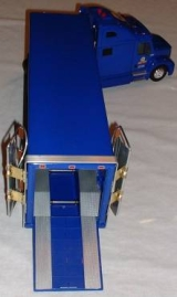 Scale model of faring on truck